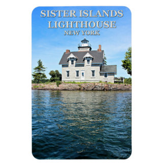 Sister Islands Lighthouse, New York Flexi Magnet