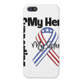 Sister - Military Supporting My Hero Case For iPhone 5