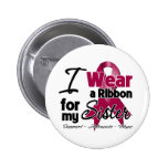 Sister - Multiple Myeloma Ribbon 2 Inch Round Button