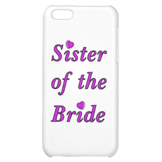 Sister of the Bride Simply Love Case For iPhone 5C