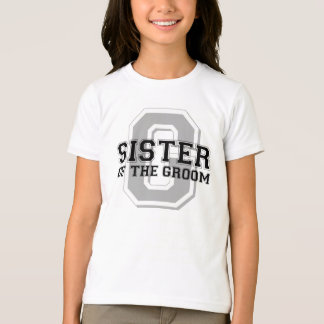 Sister of the Groom Cheer T-Shirt