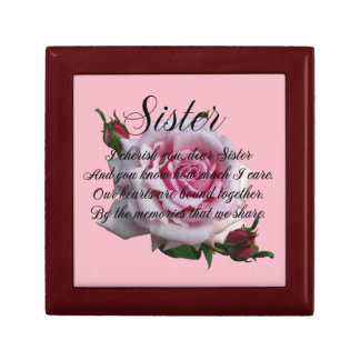 SISTER  QUOTE GIFT BOX