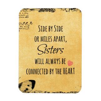 Sister Quote Rectangular Photo Magnet