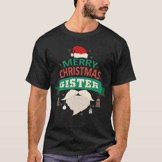 Sister Santa Merry Christmas Family Matching T-Shirt