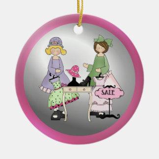 Sister Shopping Memories ornament