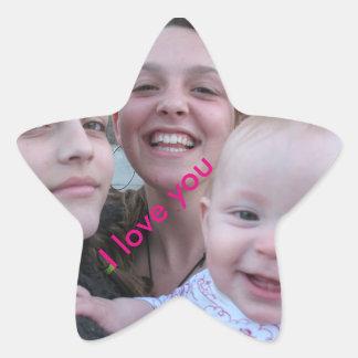 sister star sticker