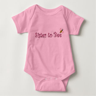 Sister to Bee Baby Baby Bodysuit