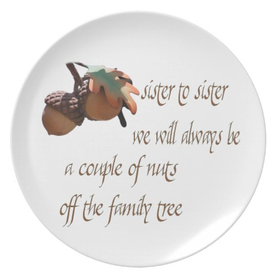 Sister to Sister Plate
