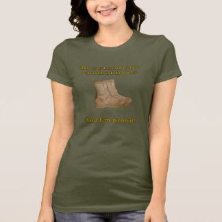Sister Wears Combat Boots T-Shirt