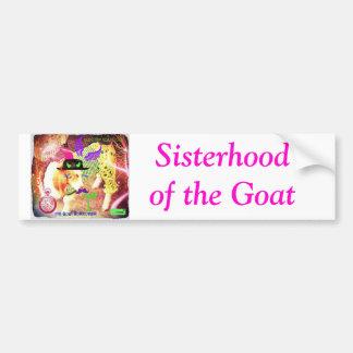 Sisterhood of the Goat Bumper Sticker