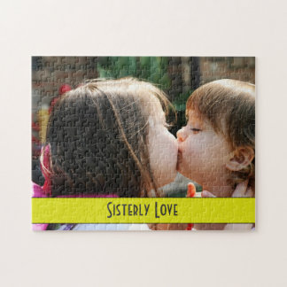 Sisterly Love - Send off Kiss Before School Puzzle