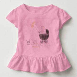 Sisters Always Pull Each Other Through Toddler T-shirt