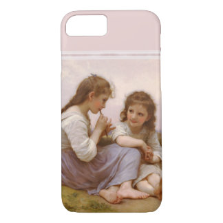 Sisters and Flute Music by Bouguereau iPhone 7 Case