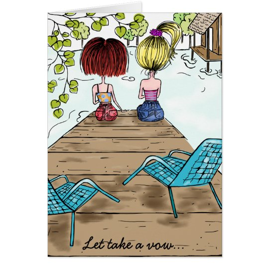 Sisters and friends card