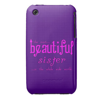 Sisters Birthdays Parties : Beautiful Sister iPhone 3 Case