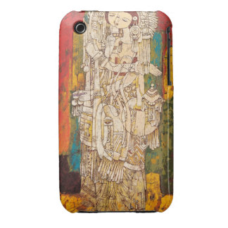 Sisters Chen Yongle oriental abstract ladies art iPhone 3 Case