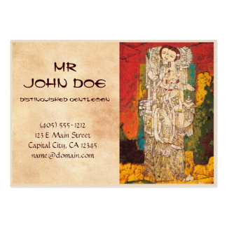 Sisters Chen Yongle oriental abstract ladies art Large Business Card