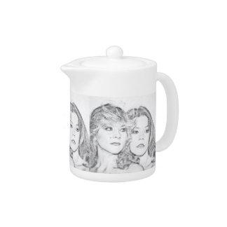 """Sister's"" Collection Tea Pot"