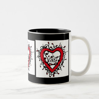 sisters eternal Two-Tone coffee mug