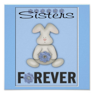 Sisters Frame Poster