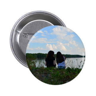 Sisters/Friends 2 Inch Round Button