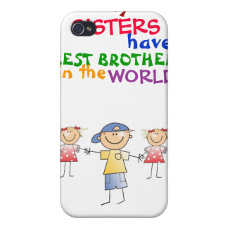 Sisters have Best Brother 4/4s  iPhone 4/4S Case