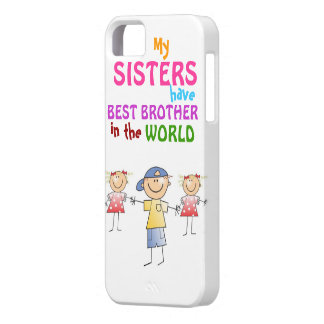 Sisters have Best Brother iPhone 5 Case-Mate Case