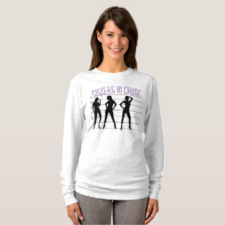 Sisters in Crime 101 T-Shirt