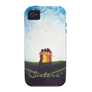 """""""Sisters"""" iPhone 4/4s Tough Case iPhone 4 Cover"""