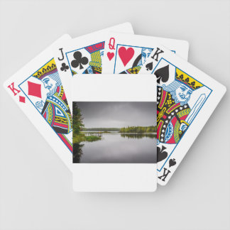 Sisters Lake Bicycle Playing Cards