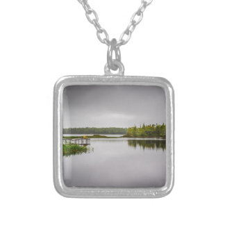 Sisters Lake Silver Plated Necklace