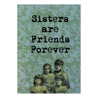 Sisters Large Business Card