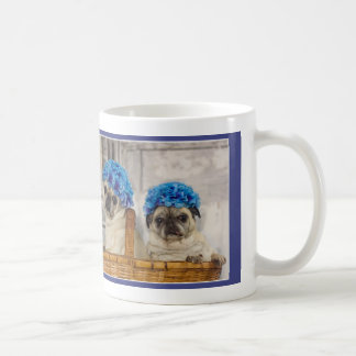Sisters Listen with Their Hearts Pug Mug