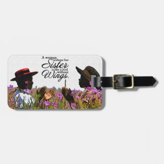 Sisters Luggage Tag