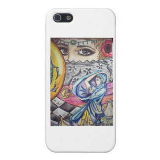 SISTERS OF A POET MOON iPhone 5/5S CASES