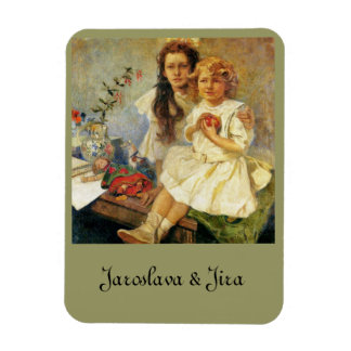 Sisters Rectangular Photo Magnet