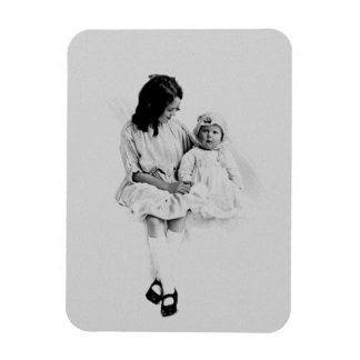Sisters Rectangular Photo Magnet