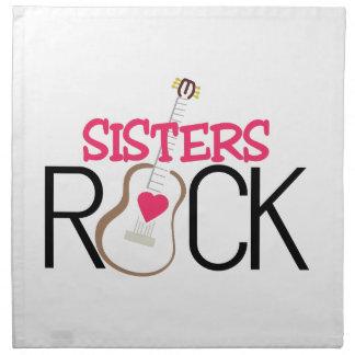 Sisters Rock Printed Napkins