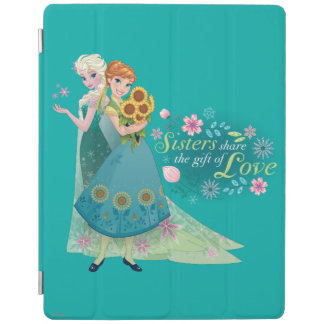 Sisters Share the Gift of Love 2 iPad Cover