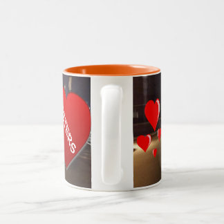 Sisters Two-Tone Coffee Mug