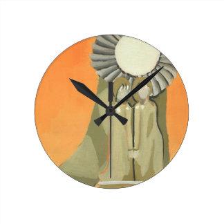 sisters wall clocks