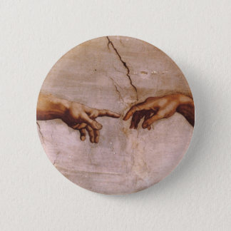 Sistine Chapel Ceiling 2 Inch Round Button