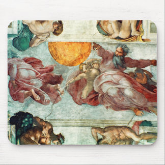 Sistine Chapel Ceiling 3 Mouse Pad