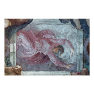 Sistine Chapel Ceiling 3 Poster