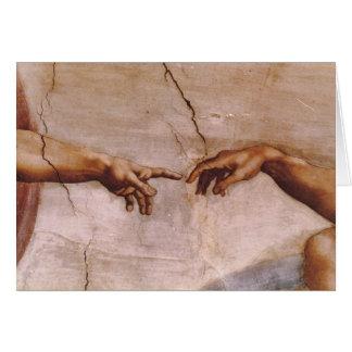 Sistine Chapel Ceiling Card