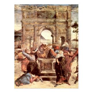 Sistine Chapel - Punishments of the Levites Postcard