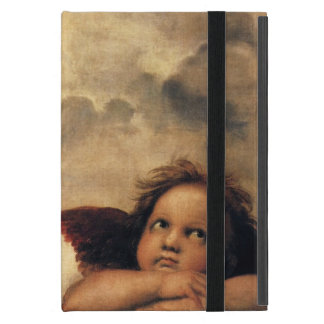Sistine Madonna, Angels detail by Raphael Covers For iPad Mini