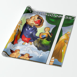 Sistine Madonna Wrapping Paper