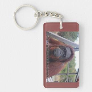Siswi Orangutan at Camp Leakey Keychain