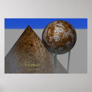 Sisyphus (print) poster